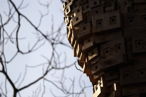 Инновационные скворечники в Лондоне. Фото: Dan Kitwood/Getty Images