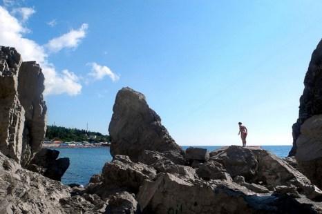 Симеиз. Валуны - остатки скалы Монах. Фото: Алла Лавриненко/Великая Эпоха (The Epoch Times)
