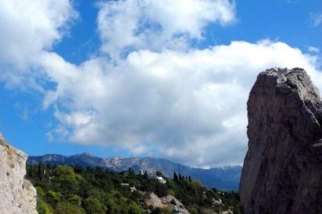 Симеиз. Вершины Крымских гор. Фото: Алла Лавриненко/Великая Эпоха (The Epoch Times)