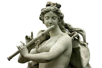 Эвтерпа, муза музыки. Фото: Shutterstock
