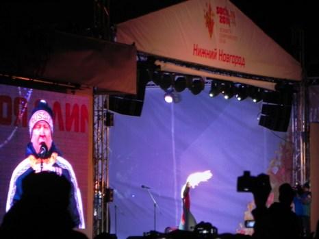 Губернатор Нижегородской области, Валерий Шанцев выступает с поздравительной речью. Фото: Екатерина Сёмина/Великая Эпоха (The Epoch Times)