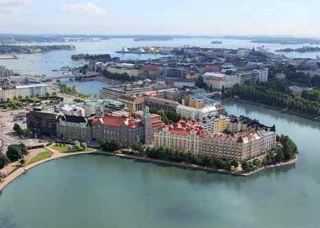 Хельсинки — столица и крупнейший город Финляндии. Фото: Kati Kosonen/commons.wikimedia.org