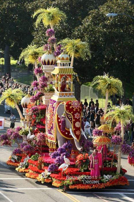 Парад роз в Калифорнии 1 января 2009 года. Фото: Alberto E. Rodriguez/Getty Images