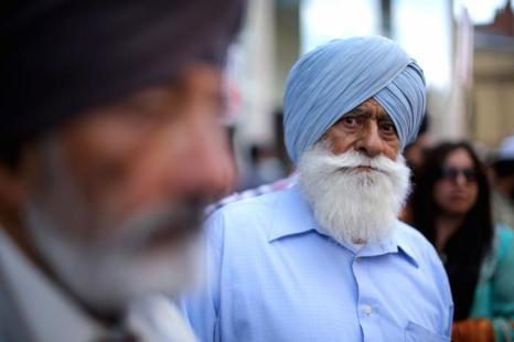Фестиваль индийской культуры и кухни «Мела» прошёл в английском Лестере в рамках городского фестиваля 26 августа 2013 года. Фото: Christopher Furlong/Getty Images