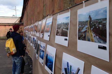 В эту субботу, 7 сентября, в День города прошла первая ежегодная фотовыставка «Крыши на крыше». Фото предоставлено Георгием Ланчевским