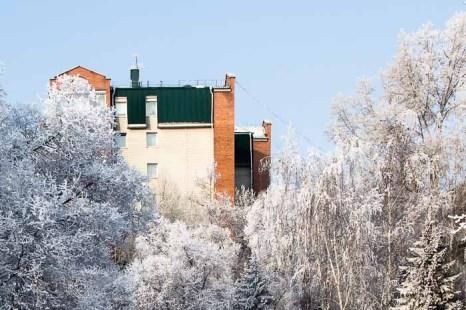 Зима. Фото: Сергей Тугужеков/Великая Эпоха (The Epoch Times)