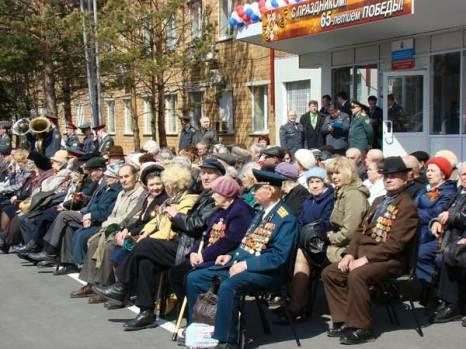 Чествование ветеранов-красноярцев в преддверии Дня победы. Фото: Александр Куликовский