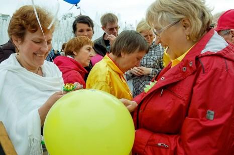 Празднование всемирного Дня Фалунь Дафа.  Санкт-Петербург. Фото: Ирина Оширова/Великая Эпоха (The Epoch Times)