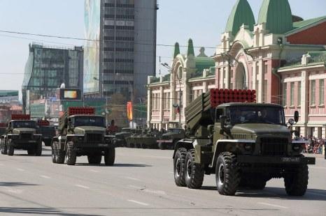 Празднование Дня Победы в г.Новосибирск. Фото: Сергей Кузьмин/Великая Эпоха (The Epoch Times)