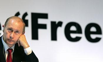 Владимир Путин.Фото: DMITRY ASTAKHOV/Getty Images
