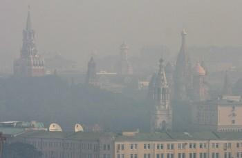 Жара и дым увеличили смертность в Москве в 2 раза. Фото: Andrey SMIRNOV /AFP /Getty Images