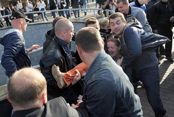 Больше 300 человек были арестованы  в День независимости в Минске и других городах. Фото с signend.com