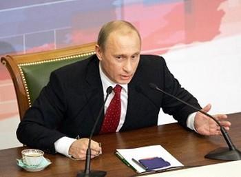 Владимир Путин. Фото: ALEXEY PANOV /AFP /Getty Images