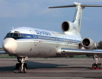 Cамолет Ту-154