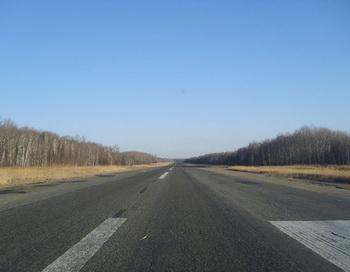 Трасса Хабаровск-Комсомольск. Фото с сайта  panoramio.com