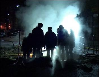 Авария на теплосети в Иркутске. Фото с сайта as.baikal.tv