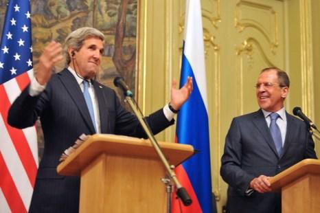 Визит госсекретаря США в Россию подчеркнул важность обоюдного сотрудничества. Фото: MLADEN ANTONOV/AFP/Getty Images