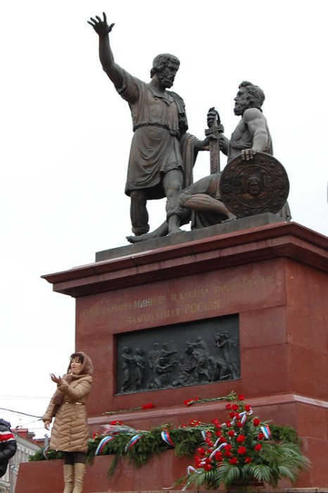 Памятник Минину и Пожарскому. Фото: Николай Карпов/Великая Эпоха (The Epoch Times)
