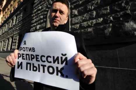 Оппозиционер Алексей Навальный намерен стать президентом России. Фото: ANDREY SMIRNOV/AFP/Getty Images