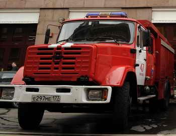 Пожар вспыхнул в психоневрологическом диспансере Краснодарского края: один человек погиб. Фото: KIRILL KUDRYAVTSEV/AFP/Getty Images