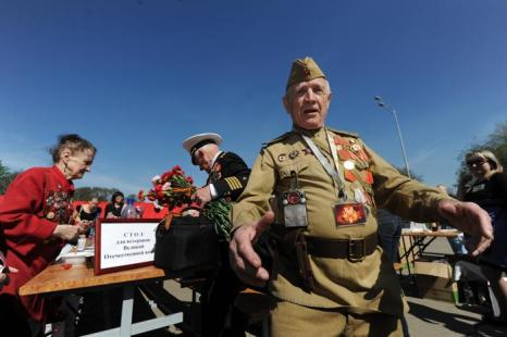 Парад Победы в Москве прошёл на «отлично». Фото: ANDREY SMIRNOV/AFP/Getty Images