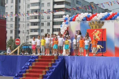 День города в Минусинске 12 июня 2012 года. Фото: Чанков Иван