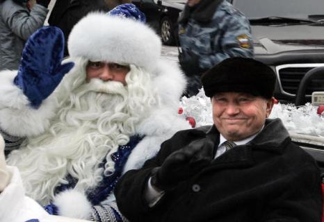 26 декабря 2005 год. Юрий Лужков: биография в фотографиях. Фото: MAXIM MARMUR/AFP/Getty Images