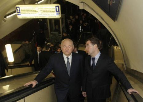 29 марта 2010 год. Юрий Лужков: биография в фотографиях. Фото: VLADIMIR RODIONOV/AFP/Getty Images
