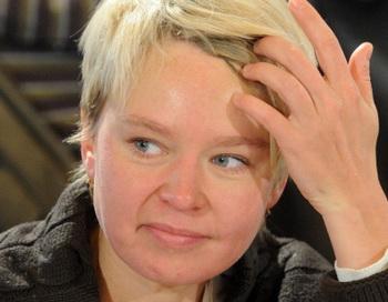 Евгения Чирикова. Фото: KIRILL KUDRYAVTSEV/AFP/Getty Images