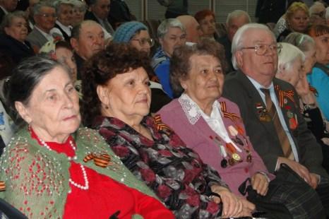 Торжественное мероприятие для ветеранов, посвященное Дню Победы. Фото: Ольга Копонева/Великая Эпоха (The Epoch Times)