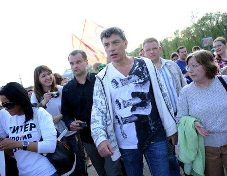«Марш миллионов», Москва, 6 мая 2012. Фото: NATALIA KOLESNIKOVA/AFP/GettyImages