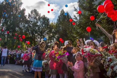 В небо запущены воздушные шары! Фото: Сергей Лучезарный/Великая Эпоха (The Epoch Times)
