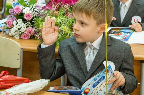 Первый вопрос учителю! Фото: Сергей Лучезарный/Великая Эпоха (The Epoch Times)