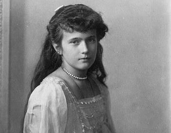 Младшая дочь Николая II Анастасия. Фото: commons.wikimedia.org