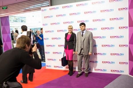 Татьяна Белькевич (PROfashion) и Ифраим Биняминов (Expolon). Фото предоставили PROfashion media agency