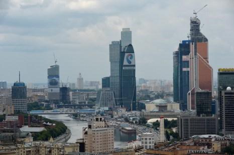 Москва. Более 35 тысяч рабочих мест будет создано в новой Москве. Фото: NATALIA KOLESNIKOVA/AFP/Getty Images