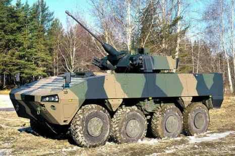 Бронетехника на основе платформы «Курганец» поступит на вооружение армии после 2015 года.Фото с сайта  arma.at.ua