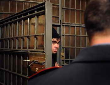 На юге Москвы задержаны более 180 мигрантов. Фото: ANDREY SMIRNOV/AFP/Getty Images