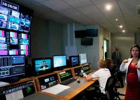 С 3 по 5 сентября в Челябинске пройдёт первое тестовое включение цифрового телевидения. Фото: YURI KOCHETKOV/AFP/Getty Images