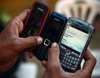 Наказание за телефонный терроризм будет ужесточено. Фото: ASIF HASSAN/AFP/Getty Images