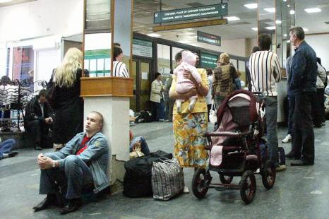 Аэропорт в Иркутске. Фото: STRINGER/AFP/Getty Images