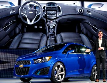 Chevrolet Aveo сменит на конвейере Горьковского автозавода легендарную «Волгу». Фото:  Tom Hawley/Chevrolet via Getty Images