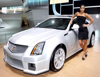 Cadillac – престижная марка, репутация которой складывалась многими десятилетиями. А в последние годы руководство люкс-отделения General Motors вдохновляется амбициозными замыслами: создать не много и не мало, а самый быстроходный в мире спорт-седан. Фото: MIGUEL MEDINA/AFP/Getty Images