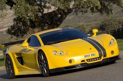 Ascari A10 - 10 место - 346 км/ч. Мощность двигателя: 625 л.с., 560 Нм. Цена - $650 000. Фото с сайта greatcarpics.ru