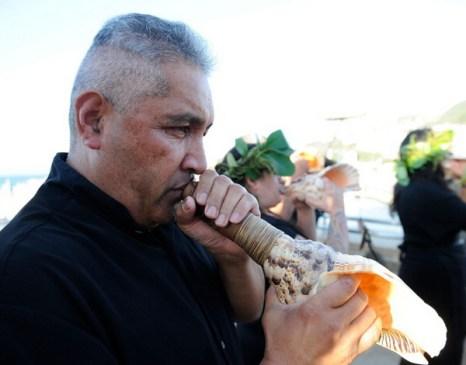 Фоторепортаж с церемонии передачи мумифицированной головы воина племени маори в Новой Зеландии. Фото: Mike Heydon/Getty Images