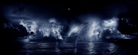 Непрерывные молнии в устье реки Кататумбо, Венесуэла. Фото: Wikimedia Commons