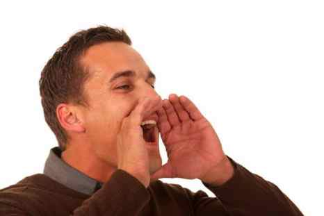 Кричащий человек. Фото: Shutterstock*