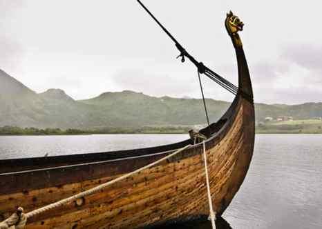 Корабль викингов. Фото: Shutterstock