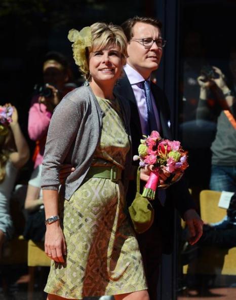 День королевы в Нидерландах. Голландская принцесса Лауренция (Laurentien) и принц  Константин (Constantijn). Фоторепортаж. Фото: Jasper Juinen/Getty Images
