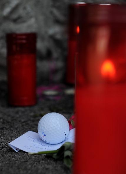 Фоторепортаж, посвященный памяти легендарного гольфиста Испании Сева Бальестероса,. Фото: Andrew Redington /Jorge Andreu - Pool/Seve Ballesteros Foundation via/ Getty Images